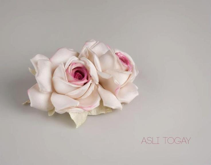 53 best asli togays handmade silk flowers images on pinterest handmade silk rose mightylinksfo