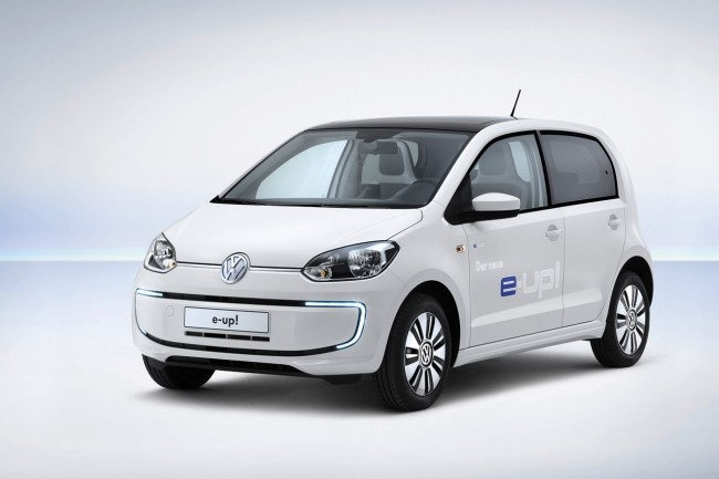 2014 Volkswagen e-up!  Electric City Car.  $31,500. Made in Germany. Available in Europe