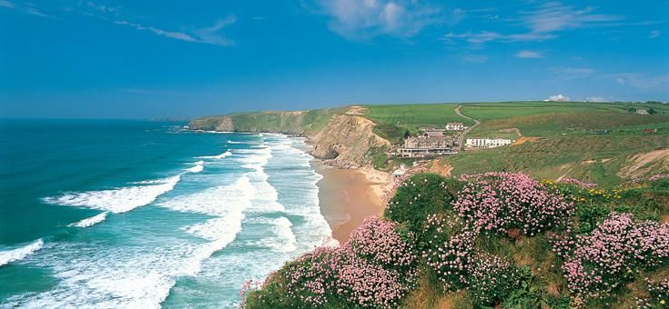 Watergate Bay, Cornwall, England