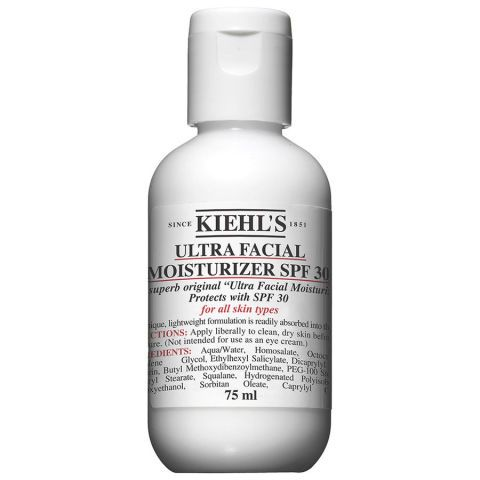 Kiehl's Ultra Facial Moisturizer with SPF 30: ELLE editors share the 11 best sunscreens that they actually use.