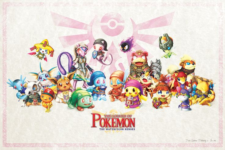 Fan des univers de Pokémon et/ou de Zelda ? Alors vous allez fortement apprécier les soyeuses créations de David Pilatowsky, graphic designer mexicain, qui grâce à sa maîtrise de Photoshop, va vous té