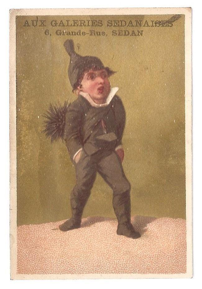 Le Ramoneur - - Testu et Massin - Chromo Aux Galeries Sedanaises - Trade Card