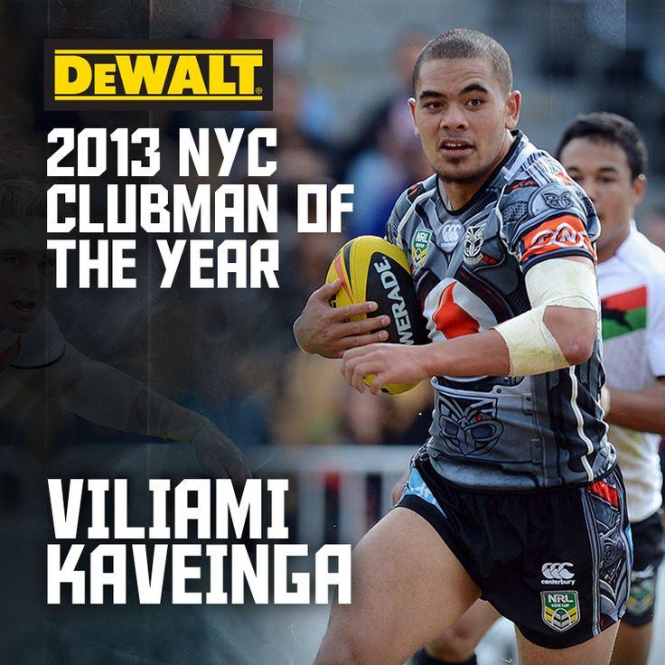 DeWALT 2013 NYC Clubman of the Year Viliami Kaveinga