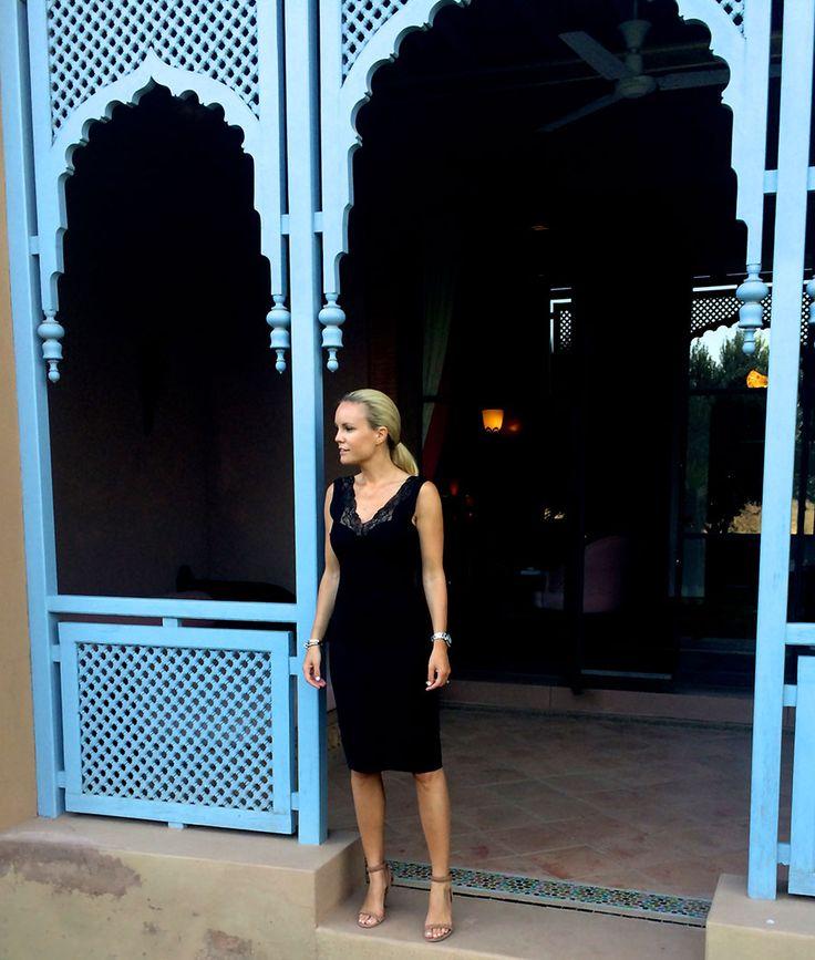 Style...Sofi Fahrman // Sofis snapshots // black dress