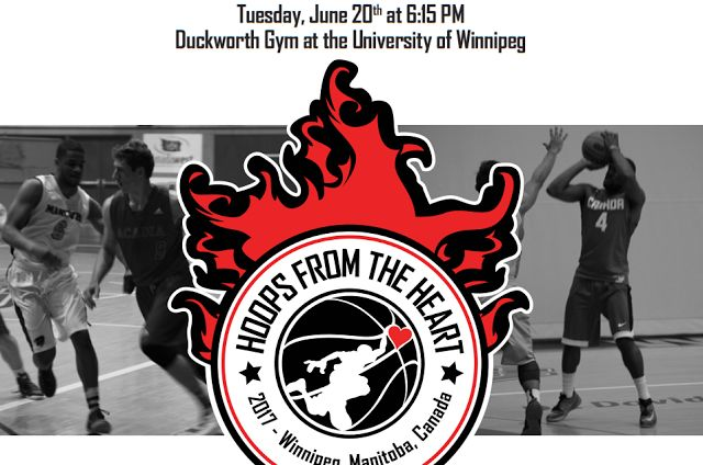 ROSTERS ANNOUNCED: Hoops from the Heart Basketball Fundraising Event Back June 20   UPDATED: We are ready and set for the 9th Annual Hoops From The Heart Basketball Event in support of inner city kids! We have an exciting game ready to go featuring the best basketball players this province has to offer! We have players from the current U of M and U of W teams testing their skills again against a Manitoba All Star team (including European pro star Jarred Ogungbemi-Jackson!) that has beaten…