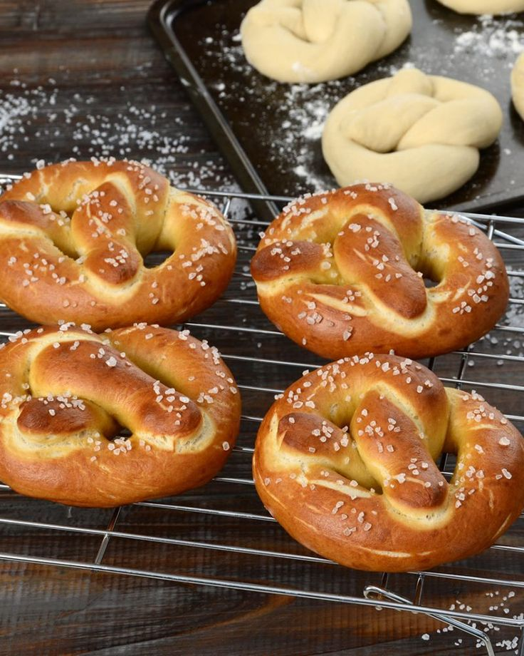 I pretzel la ricetta per farli uguali a quelli dei for Casa tradizionale tedesca