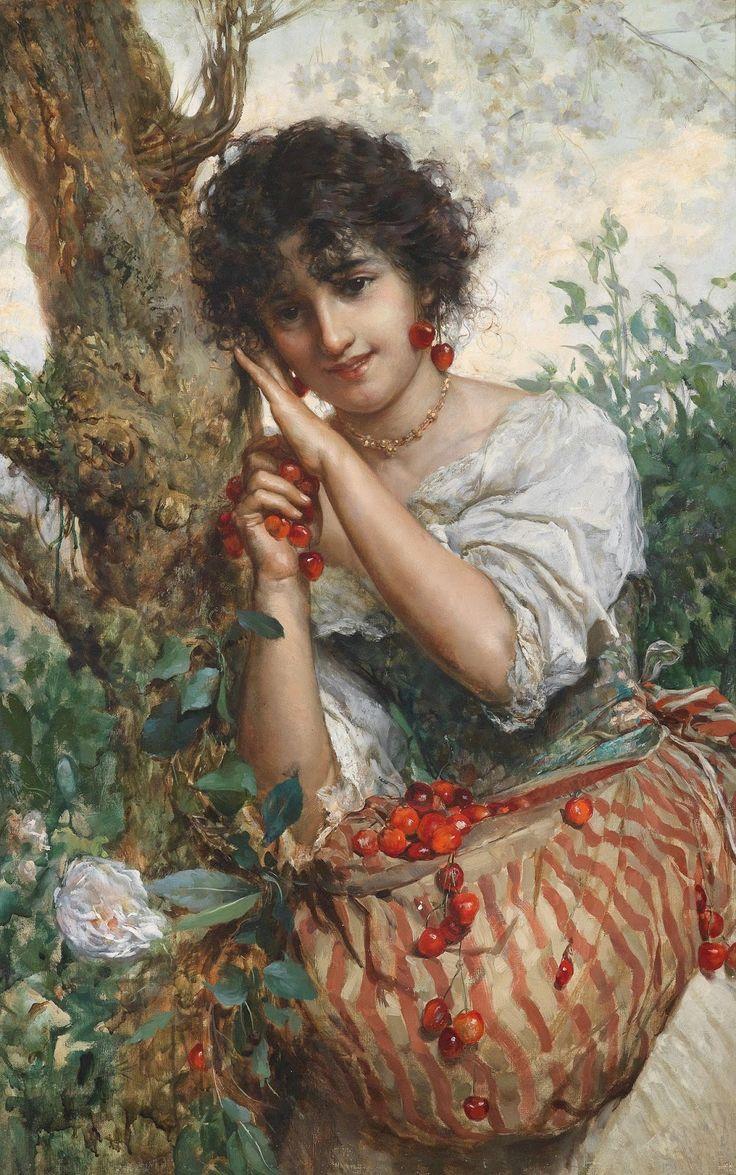 Salvatore Postiglione   Genre /Portrait painter.