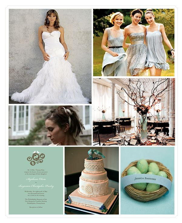 18 best love bird wedding theme trend 2013 images on pinterest mint ivory blue and peach love bird theme themed weddingg junglespirit Gallery