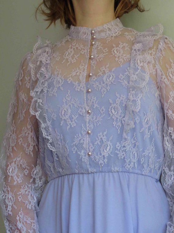 HALLOWEEN SALE Lilac Victorian/ Edwardian by GenerousHeartVintage