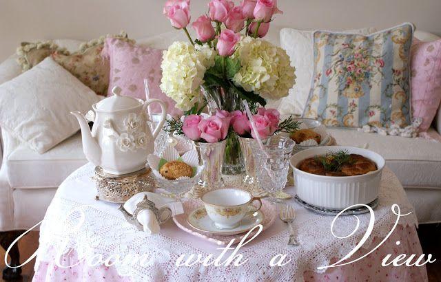 A Little Loveliness: New Year's Brunch Tea Party