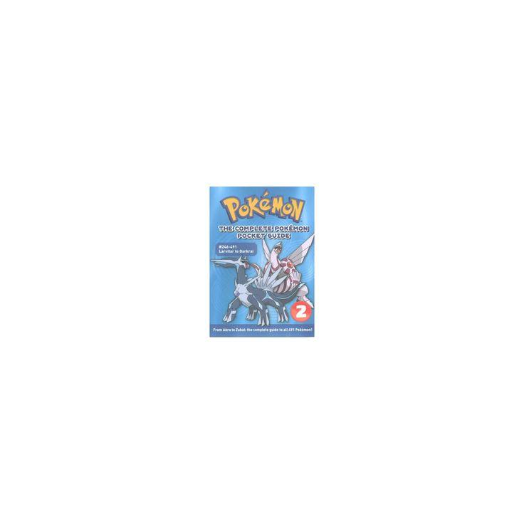 Complete Pokemon Pocket Guide : 246-491 Larvitar to Darkrai (Paperback) (Makoto Mizobuchi)