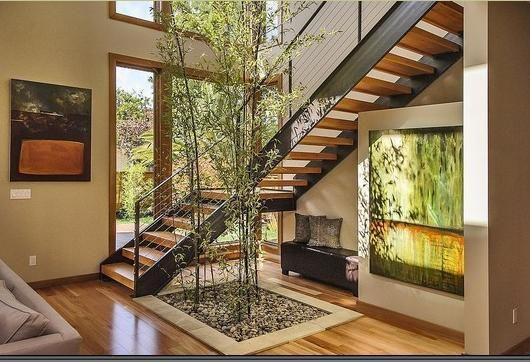 Pinterest escaleras con descanso buscar con google for Escalera de cemento con descanso