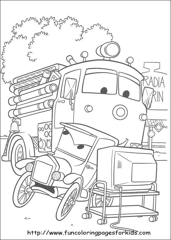 121 best images about Cars Coloring Pages on Pinterest  Cars