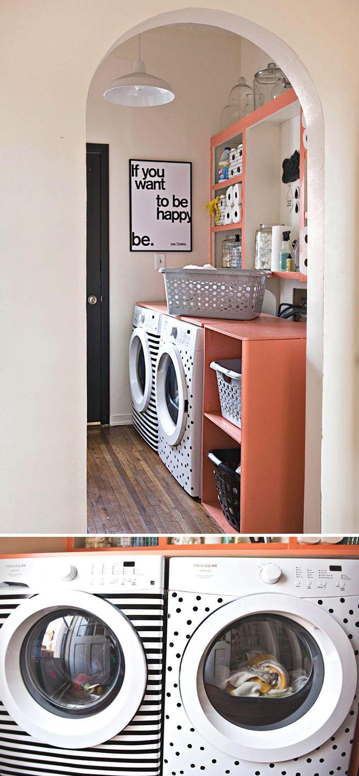 lavanderia Como decorar gastando pouco: Ano novo, casa nova com dicas de decoração baratas, rápidas e fáceis de fazer!