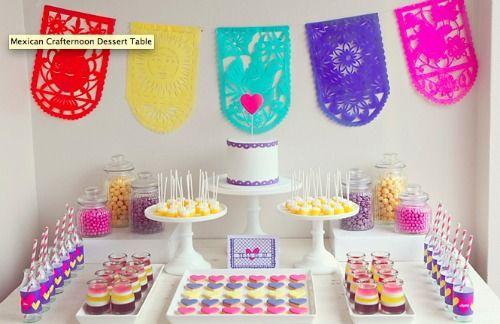Dessert Table - Kleurrijk