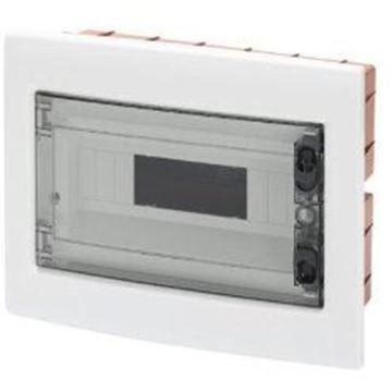 Tablou electric Gewiss, 12 module, montaj incastrat, grad protectie IP40, GW40605