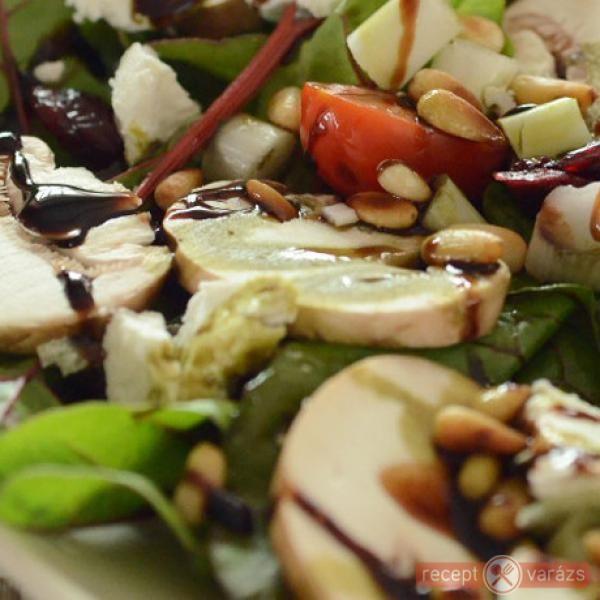 Gombás rukkolasaláta - Tökéletes vacsora! http://www.receptvarazs.hu/receptek/recept/gombas_rukkolasalata