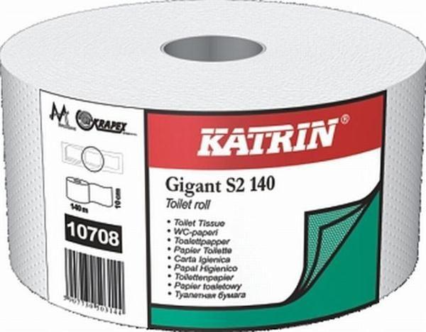 Papier toal. Katrin Classic Gigant S 2w. 140 m