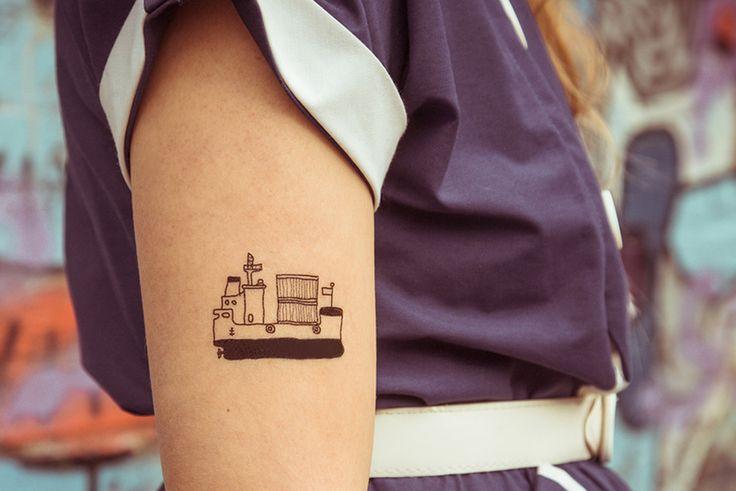 #Temporary #Tattoo - ship de TATTOO TATTAA sur DaWanda.com #tatouage #bateau