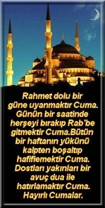 Sahabelerden biri Rasulullaha: Cenab-ı Hakk kime kıyamaz Ya Resulullah diye sorar. Efendimiz(s.a.v)'de Allah'ü Teâlâ Birbirinin arkasından duâ eden kullarıma kıyamam, ikisini de affeder…