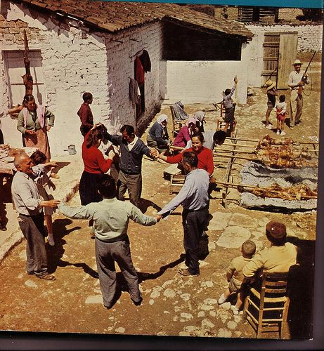 Nemea Easter celebration 1950s