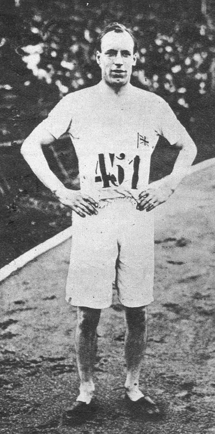 Eric Liddell : Olympic champion and unforgettable Gold Medal winner.