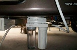 2 canister Rv water filter catridges