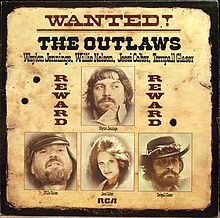 "1976 - ""Wanted! The Outlaws""  won the CMA Album of the Year featuring Waylon Jennings, Willie Nelson, Jessi Colter, and Tompall Glaser. Released by RCA Victor to capitalize on the new outlaw country movement,"