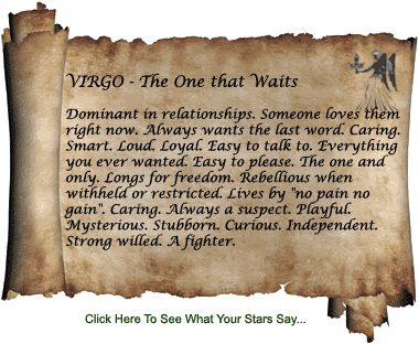 All About Virgo Personality   What Zodiac sign are you and do you like it?