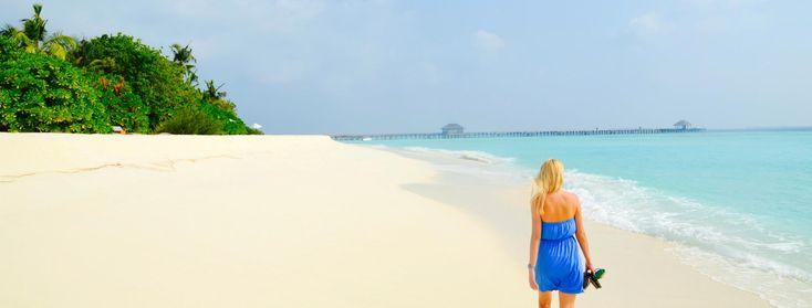 Tym razem pisaliśmy na blogu o podróżach poślubnych. Jednym z bezkonkurencyjnych kierunków są oczywiście - Malediwy! Poczytajcie o wymarzonej podróży: http://blog.planetescape.pl/najlepsze-miejsca-na-podroz-poslubna-w-azji-2-malediwy/