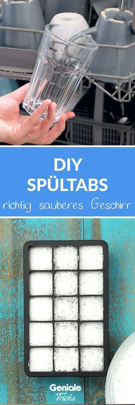 Spültabs selber machen - DIY Anleitung für sauberes Geschirr
