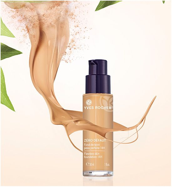 Yves Rocher lanserar Flawless Skin Foundation   #beautynews #beauty2015 #beautyproduct  #cosmetic2015 #cosmeticnews #makeup2015 #makeup  #Maquillage2015 #beautycampaign #beautyreview #makeupreview