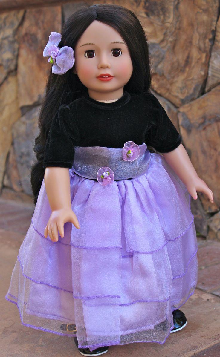 136 best american girl doll formal tulle overskirt images ...