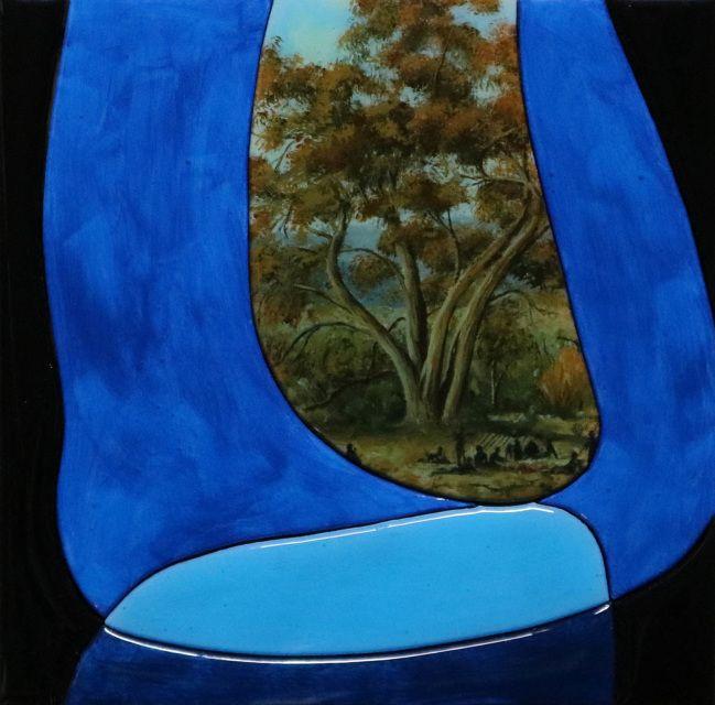The last landscape item #9 by Robert Fenton $390AUD  oil & resin on canvas on board  20 x 20cm  http://www.art500.com.au/store/p274/The_last_landscape_item_%239_by_Robert_Fenton.html