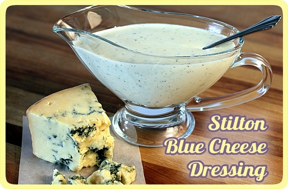 Blue Cheese Salad Dressing & Dip - A healthy makeover of the creamy ...