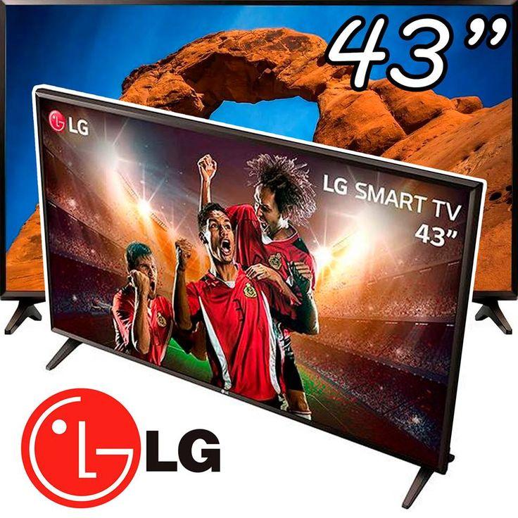"""📺 Smart TV LED 43"""" Full HD LG 43LK5700 com IPS Inteligencia Artificial Thin…"""