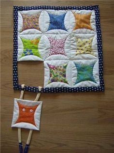 hang in there quilt block pattern - Google Search