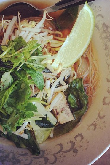Loving Earth - Recipes - Vegan Pho
