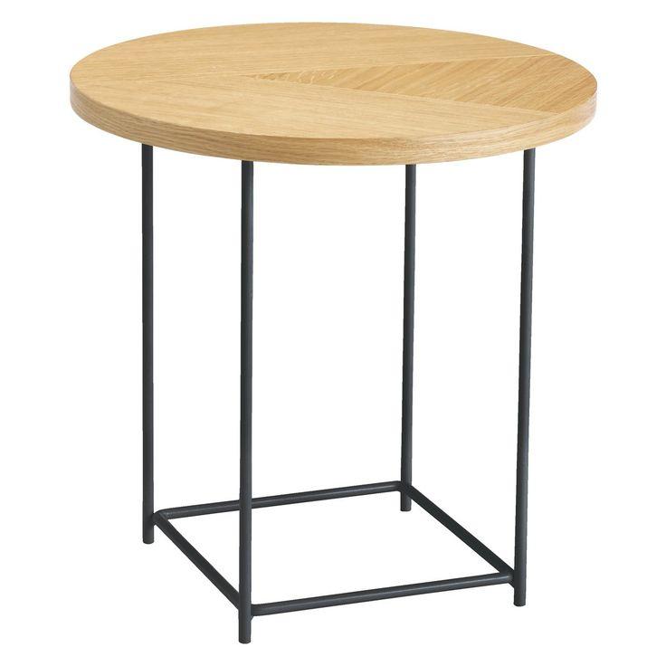 CORALIE Oak side table
