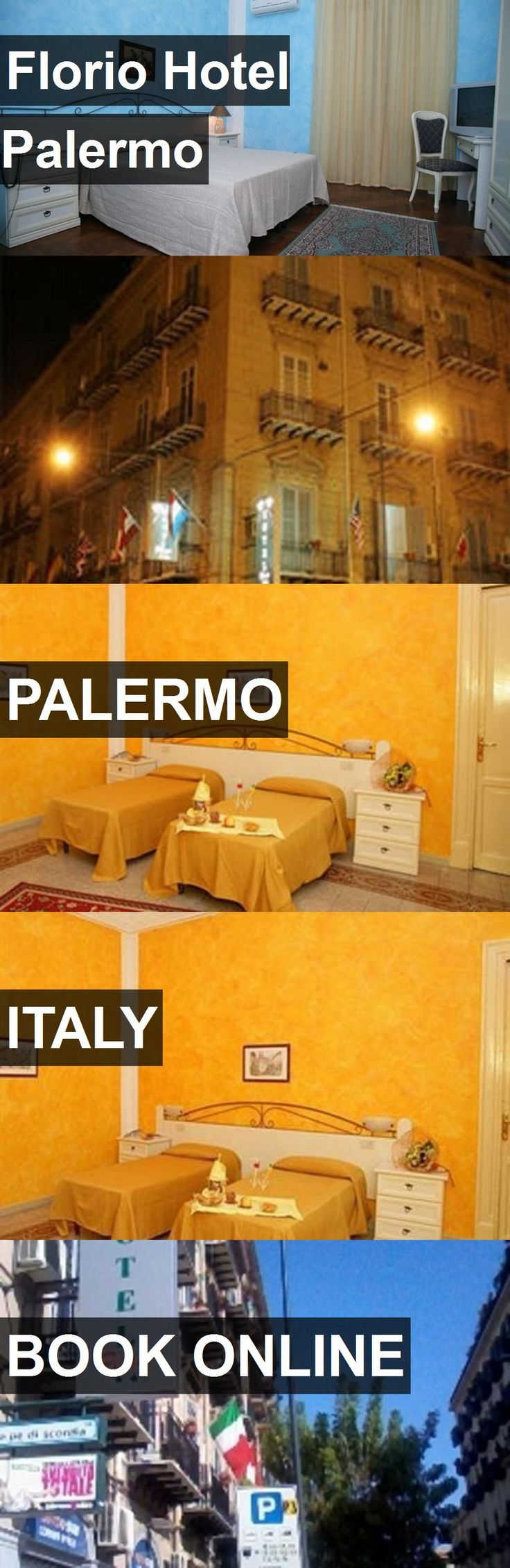 Florio Hotel Palermo in Palermo, Italy. For more information, photos, reviews and best prices please follow the link. #Italy #Palermo #travel #vacation #hotel
