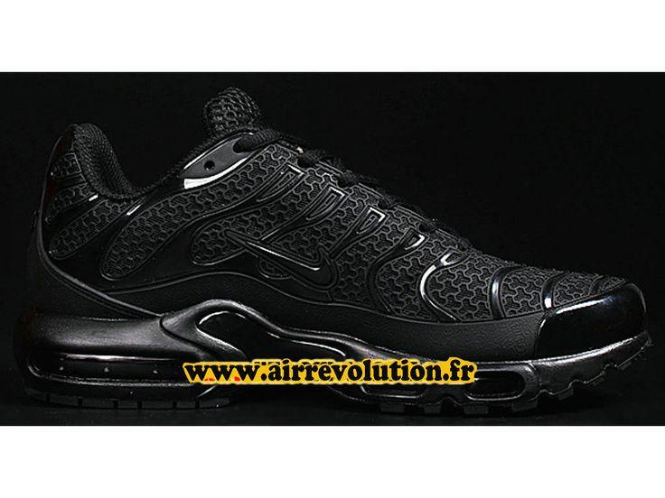 Nike Air Max Tn/Tuned Requin 2016 Chaussures Nike Officiel Pas Cher Pour  Homme Noir
