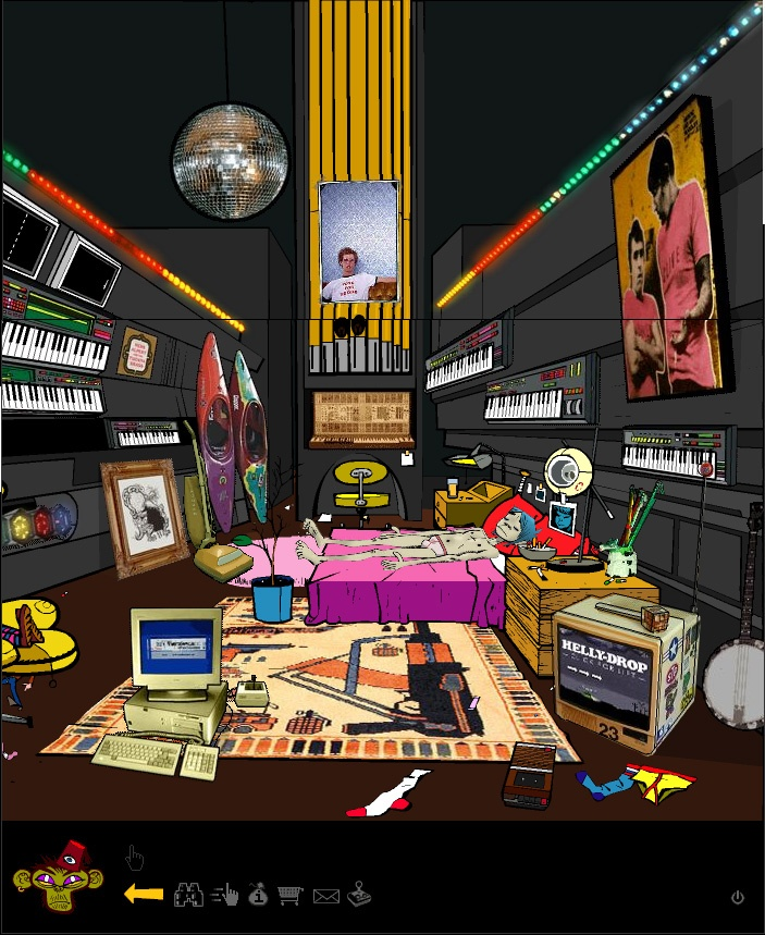 249 best images about gorillaz on pinterest plastic for Room design 2d
