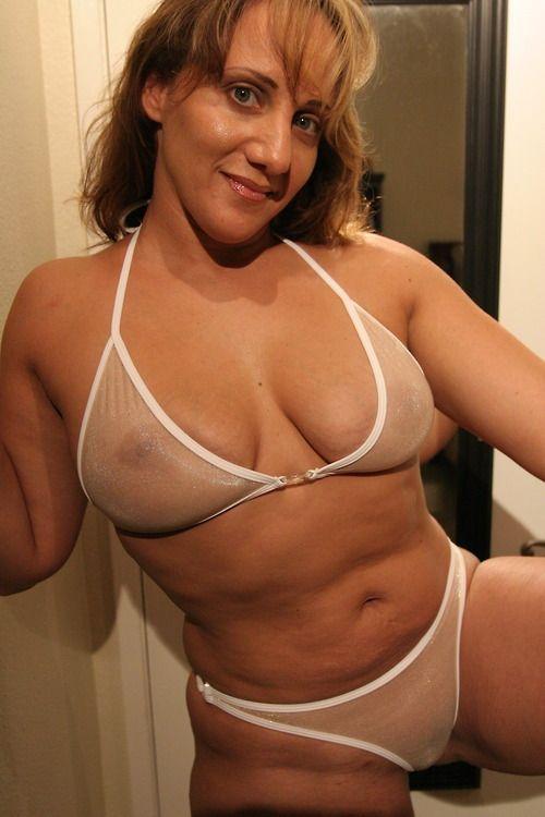 Lingerie fat amateur wife