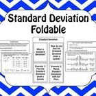 A fun foldable to teach or review finding the standard deviation of a sample.  The foldable defines standard deviations, lists the steps to find st...