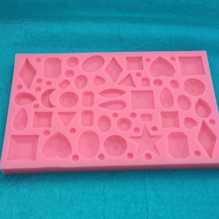 Mini Bling Jewel Design Mold for Polymer Clay
