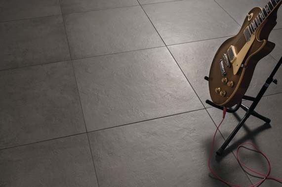 Floor tiles - Glance coal