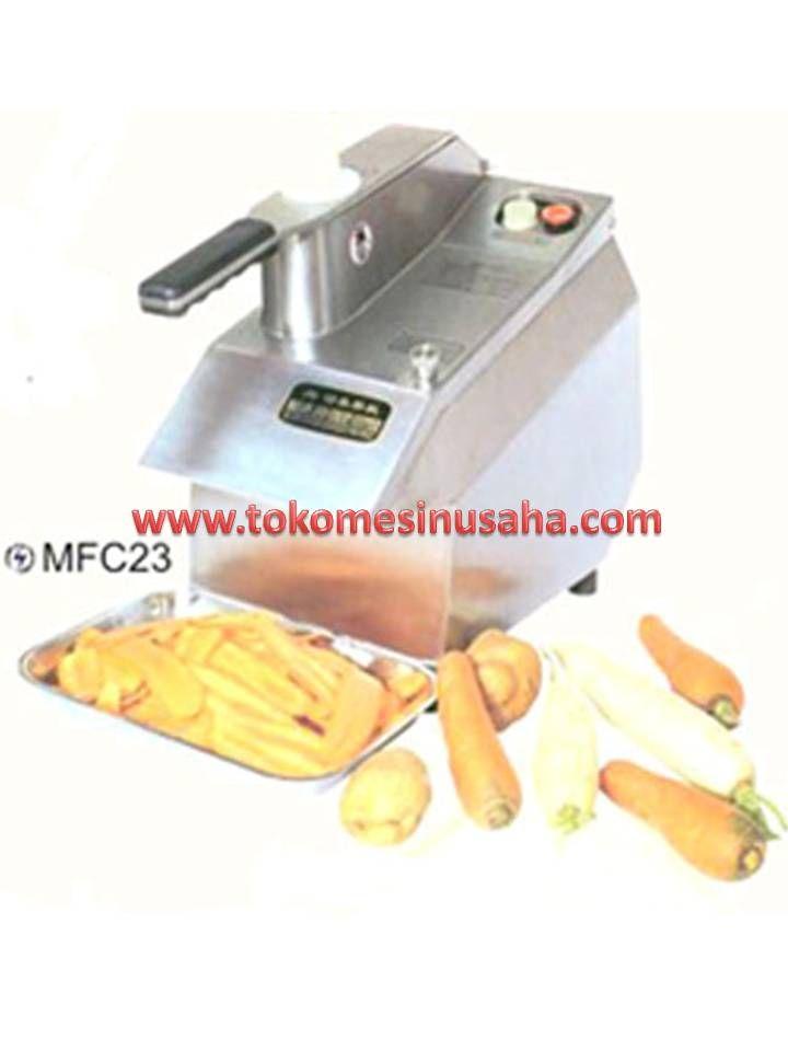 Mesin Pemotong Buah adalah mesin yang digunakan untuk memotong, mengiris, memarut serta membuat potongan kotak dengan mudah,