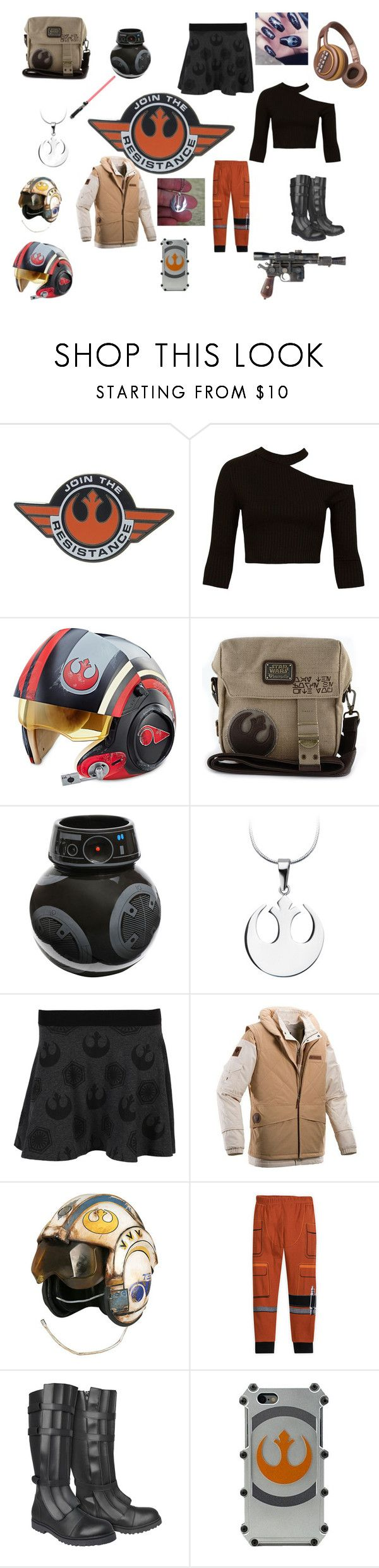 """""""Rebel Forces"""" by jointhehunt05 on Polyvore featuring Disney, Sans Souci, Hasbro, Loungefly and Columbia Sportswear"""