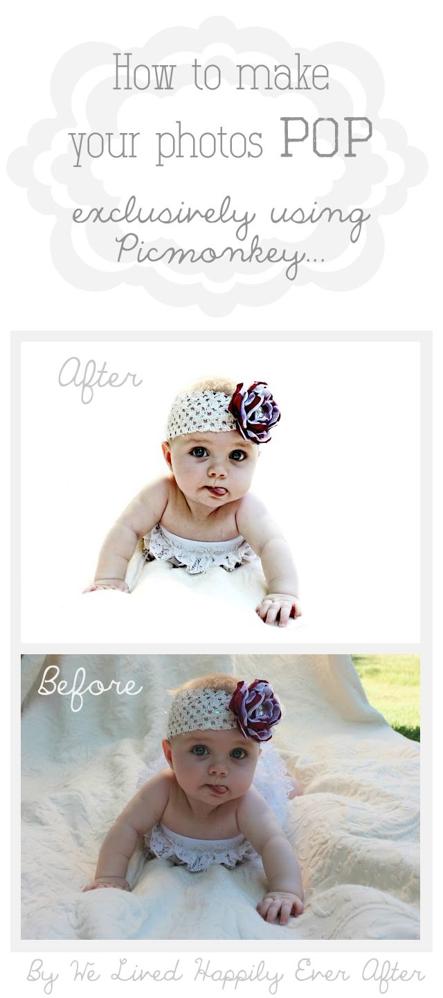 How to give your Photos that Extra Little Something using Picmonkey