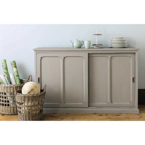 Mango wood sideboard in grey W 140cm Pensionnat | Maisons du Monde